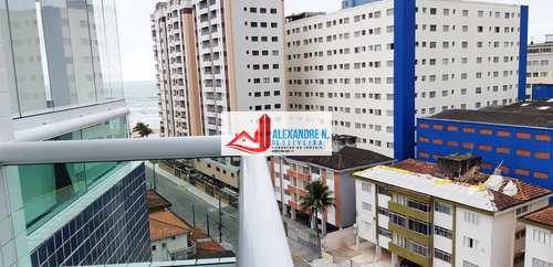 Apartamento, código AP00680 em Praia Grande, bairro Mirim