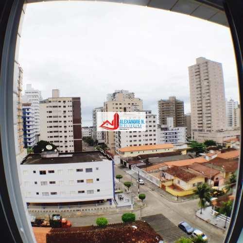 Apartamento, código AP00517 em Praia Grande, bairro Aviação