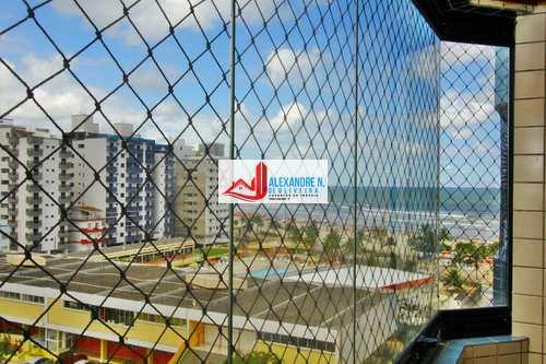 Apartamento, código AP00698 em Praia Grande, bairro Ocian