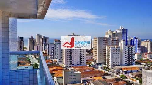 Apartamento, código AP00721 em Praia Grande, bairro Aviação