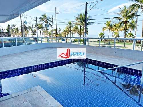 Apartamento, código AP00725 em Praia Grande, bairro Mirim
