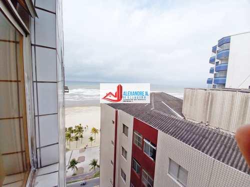 Apartamento, código AP00746 em Praia Grande, bairro Mirim