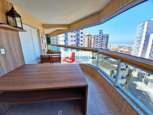 Apartamento, código AP00747 em Praia Grande, bairro Ocian