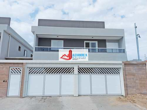 Sobrado de Condomínio, código SB00026 em Praia Grande, bairro Tupi