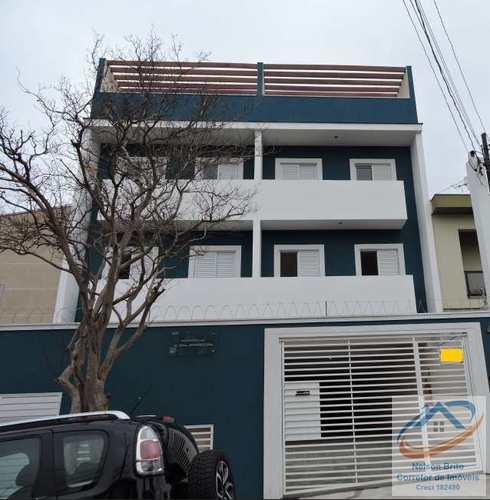 Apartamento, código 77 em Santo André, bairro Vila Scarpelli