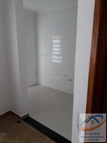 Apartamento, código 129 em Santo André, bairro Vila Vitória