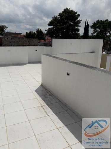 Cobertura, código 130 em Santo André, bairro Vila Vitória