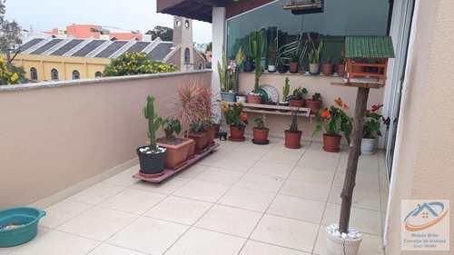 Cobertura, código 190 em Santo André, bairro Paraíso