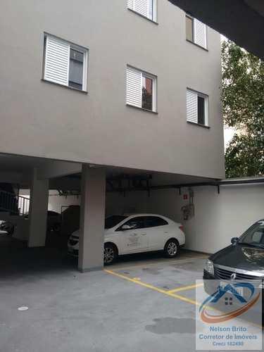 Apartamento, código 201 em Santo André, bairro Campestre