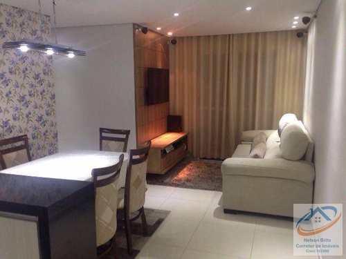 Apartamento, código 326 em Santo André, bairro Vila Eldízia