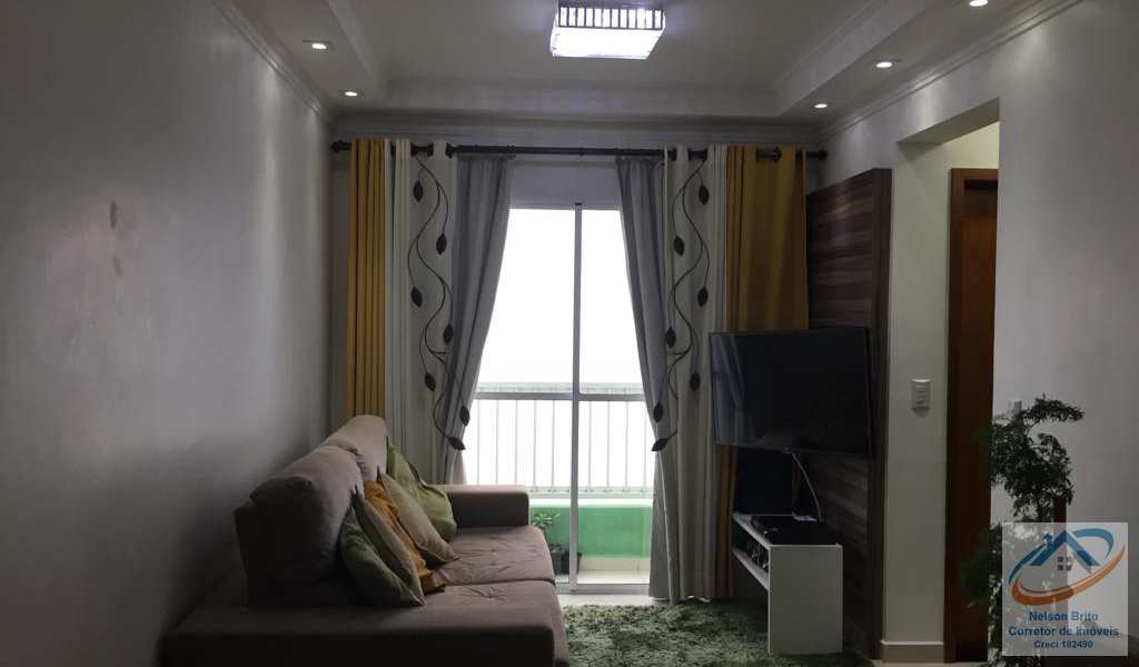 Apartamento em Santo André, bairro Vila Príncipe de Gales