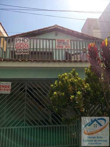 Casa, código 439 em Santo André, bairro Vila Valparaíso
