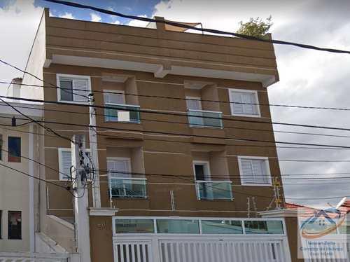 Cobertura, código 493 em Santo André, bairro Vila Alice