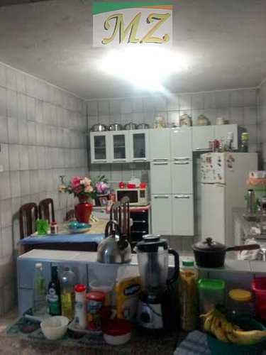 Casa, código 17 em São Vicente, bairro Catiapoa
