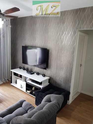 Apartamento, código 1500 em São Vicente, bairro Itararé