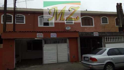 Sobrado, código 1504 em São Vicente, bairro Catiapoa