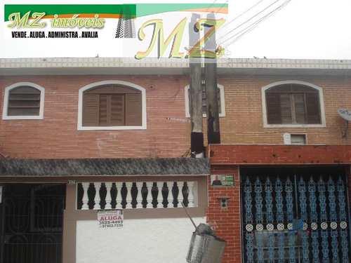 Sobrado, código 1505 em São Vicente, bairro Catiapoa