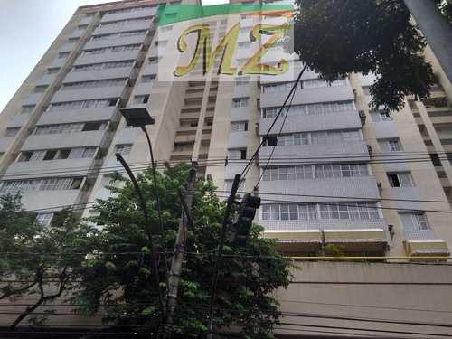 Flat, código 1508 em Santos, bairro Gonzaga