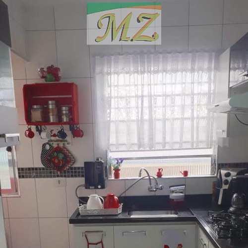 Apartamento, código 1628 em São Vicente, bairro Jardim Independência