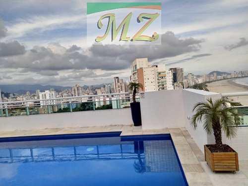 Apartamento, código 1643 em Santos, bairro José Menino