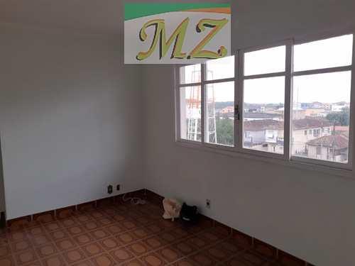 Apartamento, código 1665 em São Vicente, bairro Jardim Guassu