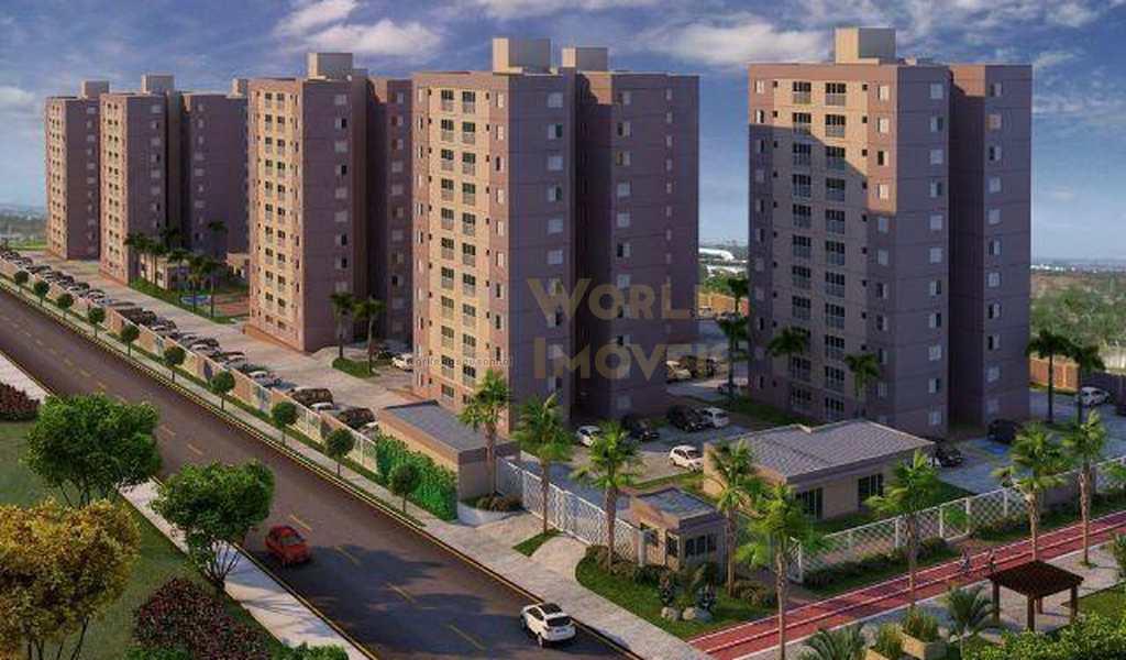 Apartamento em Uberlândia, bairro Jardim Inconfidência