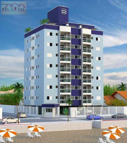 Apartamento, código 3 em Mongaguá, bairro Vera Cruz
