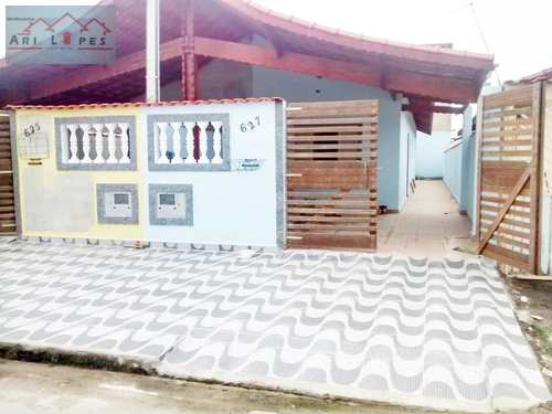 Casa, código 12 em Mongaguá, bairro Balneário Plataforma