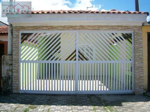 Casa, código 24 em Mongaguá, bairro Itaóca