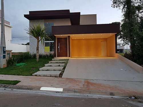 Casa de Condomínio, código 18 em Sorocaba, bairro Cajuru do Sul