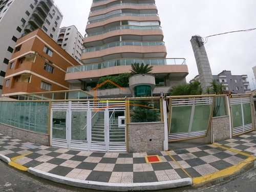 Apartamento, código 628 em Praia Grande, bairro Tupi