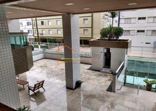 Apartamento, código 613 em Praia Grande, bairro Guilhermina