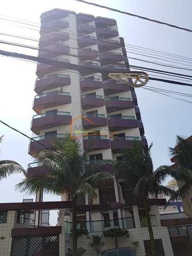 Apartamento, código 584 em Praia Grande, bairro Mirim