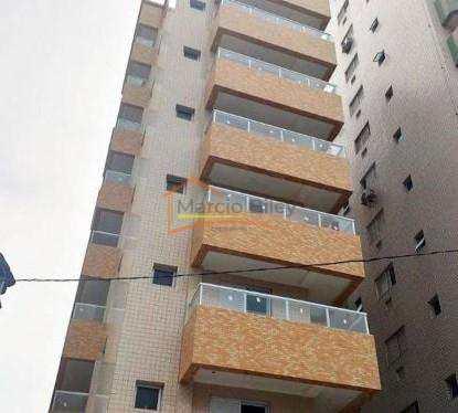 Apartamento, código 581 em Praia Grande, bairro Aviação