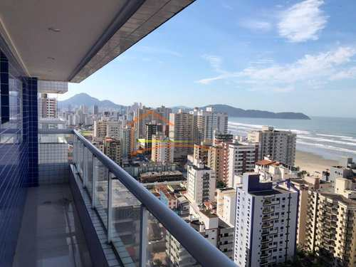 Apartamento, código 552 em Praia Grande, bairro Aviação