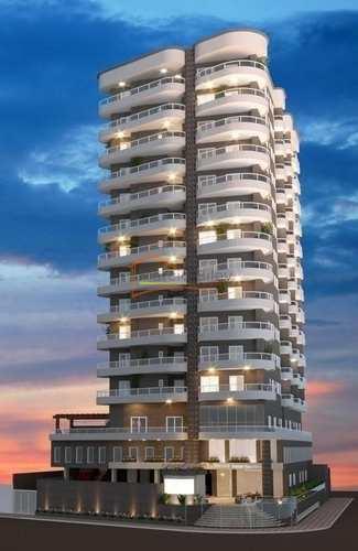 Apartamento, código 548 em Praia Grande, bairro Caiçara