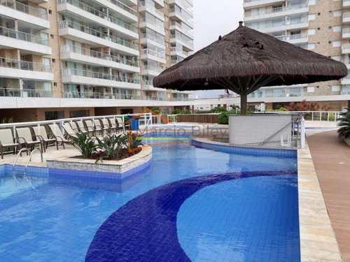 Apartamento, código 500 em Praia Grande, bairro Mirim
