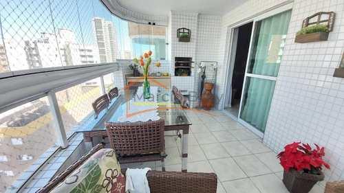 Apartamento, código 485 em Praia Grande, bairro Guilhermina