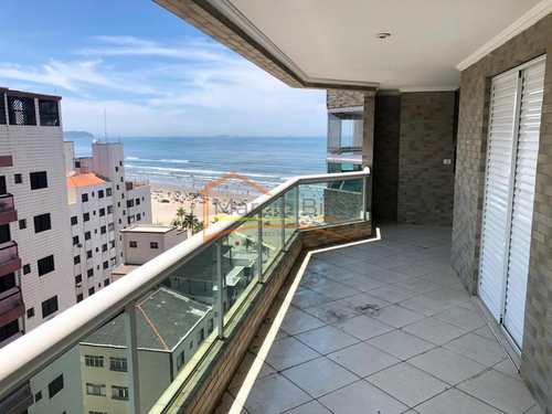 Apartamento, código 442 em Praia Grande, bairro Ocian