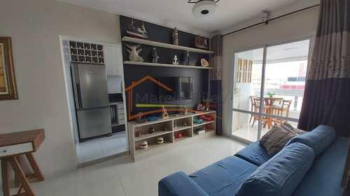 Apartamento, código 407 em Praia Grande, bairro Guilhermina