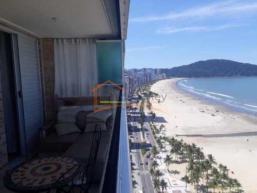 Apartamento, código 271 em Praia Grande, bairro Guilhermina