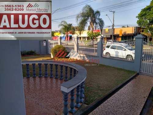 Casa, código 103 em Pirassununga, bairro Jardim São Fernando
