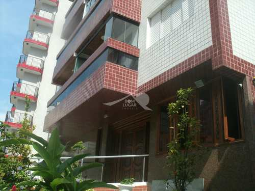 Apartamento, código 132 em Praia Grande, bairro Aviação