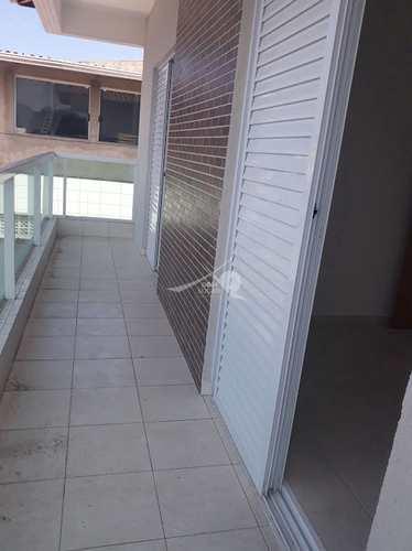 Casa de Condomínio, código 5068 em Praia Grande, bairro Antártica