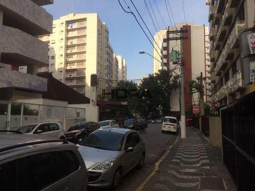 Apartamento, código 13 em Santos, bairro Gonzaga