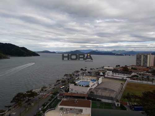 Flat, código 71 em Santos, bairro Ponta da Praia