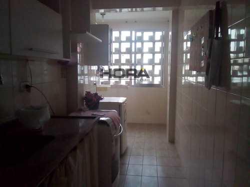 Apartamento, código 107 em Santos, bairro Boqueirão