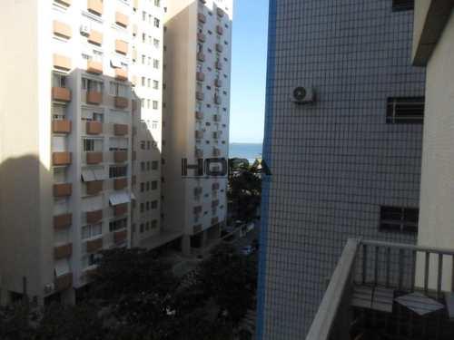 Apartamento, código 170 em Santos, bairro Gonzaga