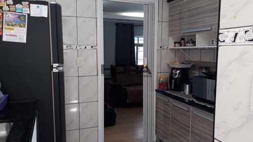 Apartamento, código 186 em Santos, bairro Aparecida