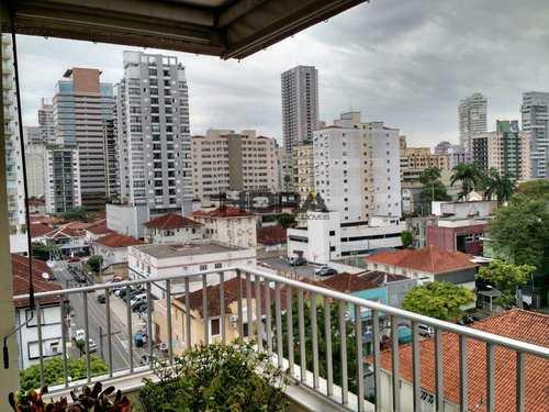 Apartamento, código 193 em Santos, bairro Gonzaga